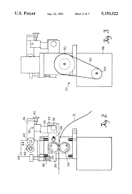 patent us5150022 press feeder and pilot release using servo