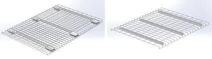 galvanized wire decking for pallet rack pallet rack warehouse
