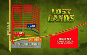 Thornville Ohio Map by Lost Lands Info General Information Camping And Festival Rules