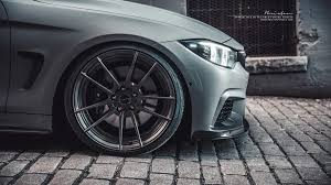 matte grey bmw bmw f32 435i m brixton forged wheels