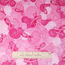 pink ribbon fabric ultra soft minky fabric breast cancer awareness pink ribbon 58