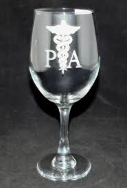 wine glass gifts physician assistant day bad day don t even ask