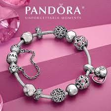 sterling silver love heart bracelet images Cheap pandora bracelets sale online usa jpg