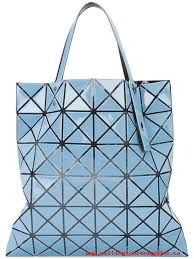 issey miyake light blue limited time special 71 light blue bao bao issey miyake lucent tote