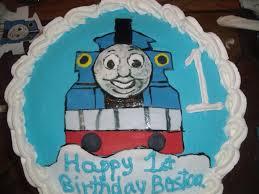 thomas train 1st birthday cake cakecentral