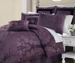 purple bedding sets single in state wendy purple 12 piece