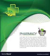 pharmacy brochure template free pharmacy brochure royalty free vector image vectorstock