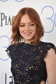 emma stone hair color her hairstyle timeline longer bob