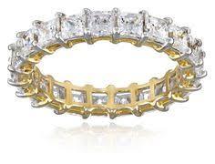 amazon black friday jewelry swarovski 10k yellow gold eternity band made with swarovski zirconia 3 5