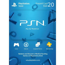 play prepaid card psn card 50 sgd playstation network singapore digital