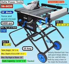 delta 13 10 in table saw best portable table saw everything you need to know