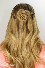updos cute girls hairstyles youtube flower bun hairstyle dutch flower braid updos cute girls hairstyles
