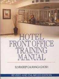 hotel front office training manual s ghosh 9788182040656