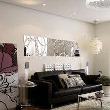 2015 new large acrylic mirror wall stickers 3d sticker home