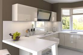 kitchen room interior apartment cozy white modern kitchen apartment in small space