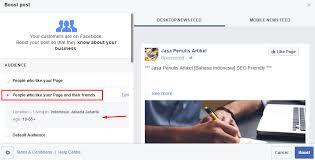tutorial cara membuat iklan di facebook cara membuat iklan di facebook dengan metode boost post