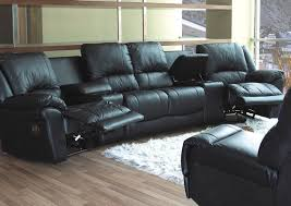 Home Theater Sectional Sofas Black Leather Motion Home Theater Sectional Sofa Sofa Review