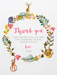 Message For Baby Shower Thank You Cards Baby Shower Thank You Cards Designs By Creatives Printed By