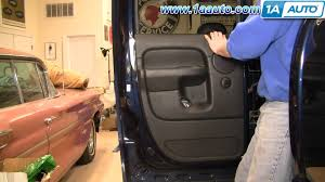 2006 Dodge Ram 3500 Truck Quad Cab - how to install replace rear door panel dodge ram quad cab 02 08