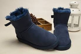 womens ugg boots bow mini bailey bow boots 1005062 navy
