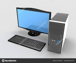 ordinateur pc bureau 3d ordinateur pc de bureau pc photographie andreync 137191608