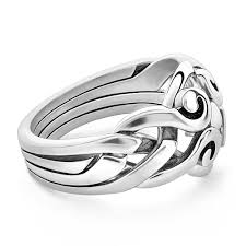 celtic rings celtic puzzle ring 4ans