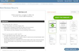 Best Resume Building Sites by Resumebuilder Org Reviews By Experts U0026 Users Best Reviews