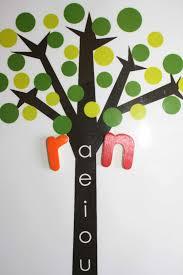 montessori tree printable el árbol de las vocales de montessori magnetic letters free