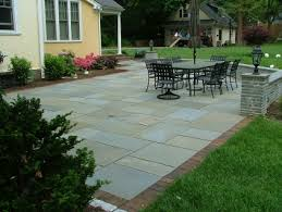 Patio Flagstone Designs Planning A New Slate Patio This Summer Along These Lines I