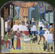 histoire de la cuisine festin d apparat au moyen age nos aïeux à table tour d horizon de