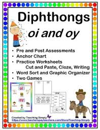 vowels diphthongs oi and oy variant vowels by teaching simply
