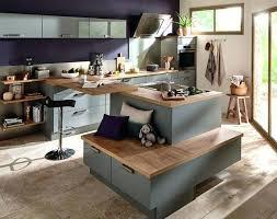 ilot de cuisine mobile un ilot de cuisine cuisine coriandre faaade en panneau de fibres