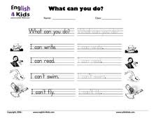 esl kids worksheets action verbs worksheets