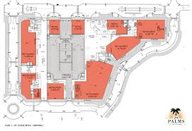 Retail Floor Plans by Floorplans 29 Palms At City Center
