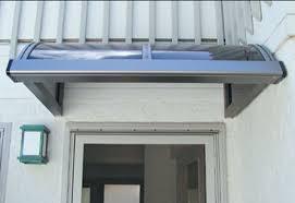 Electric Awning For House Hi Tech Modern Awnings Modern Metal Awnings