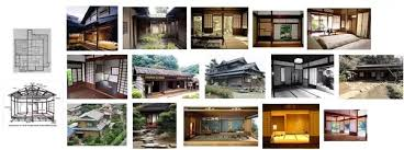 what do the blueprints of a 1 floor traditional japanese house