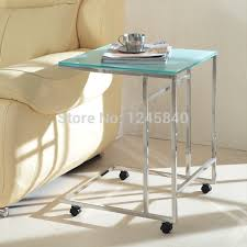 small table on wheels side table with wheels cocoanais com