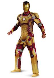 Iron Man Plus Size Deluxe Iron Man Mark 42 Costume