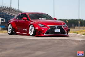 lexus is rocket bunny slammed lexus rc f with a rocket bunny wide body kit u2014 carid com
