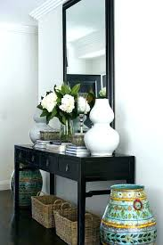 Foyer Console Table And Mirror Entry Console Table With Mirror Elpikachuviral Site