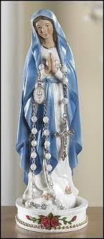 rosary holder madonna rosary holder