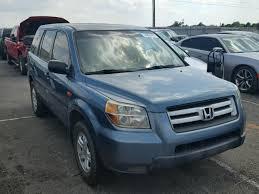 2006 honda pilot lx auto auction ended on vin 5fnyf28156b046279 2006 honda pilot lx