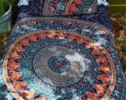 50 shades of black and white duvet cover mandala tapestry boho