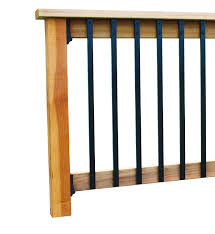 aluminum face mount balusters by solutions home and hardware depot