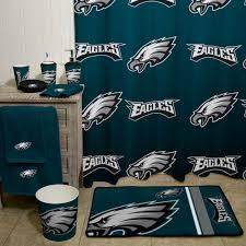 philadelphia eagles home decor nfl philadelphia eagles decorative bath collection shower