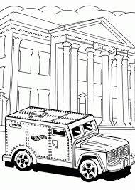 wheels steel car bank coloring netart