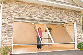 retractable screen garage door in on insulated garage doors home retractable screen garage door in on insulated garage doors