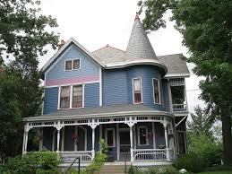 Queen Anne Victorian Queen Anne House Norwood Ohio Lovely Blue Victorian Home U2026 Flickr