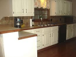 kitchen backsplash with white cabinets kitchen backsplash ideas white cabinets brown countertop window