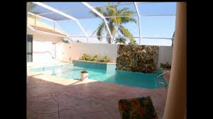 courtyard pool home in se cape coral fl youtube